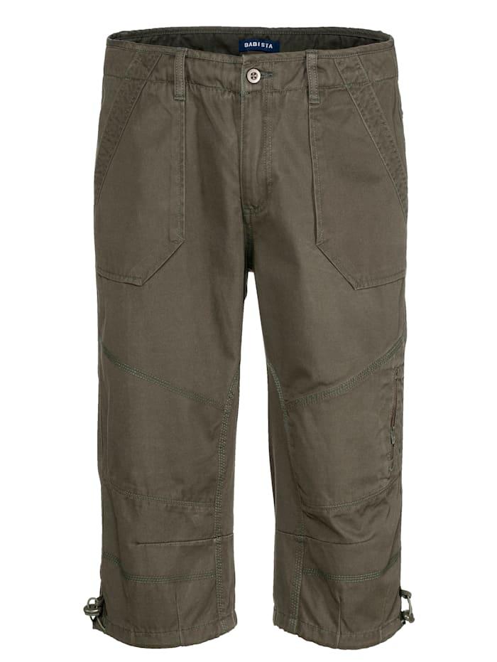 BABISTA Shorts, Olivgrön