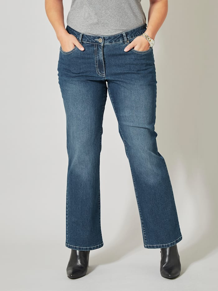 Dollywood Straight Cut Jeans Paula, Hellblau