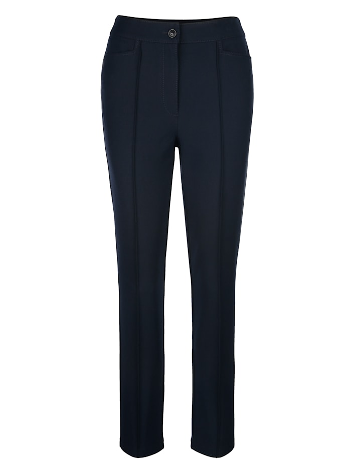 Pantalon à biais fantaisie