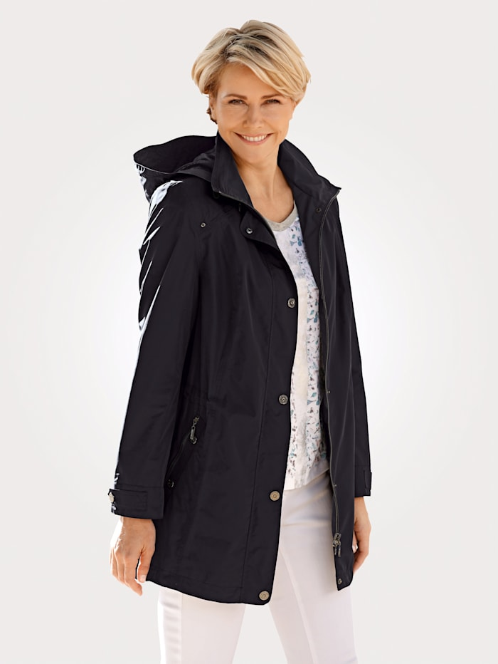 Barbara Lebek Raincoat, Navy
