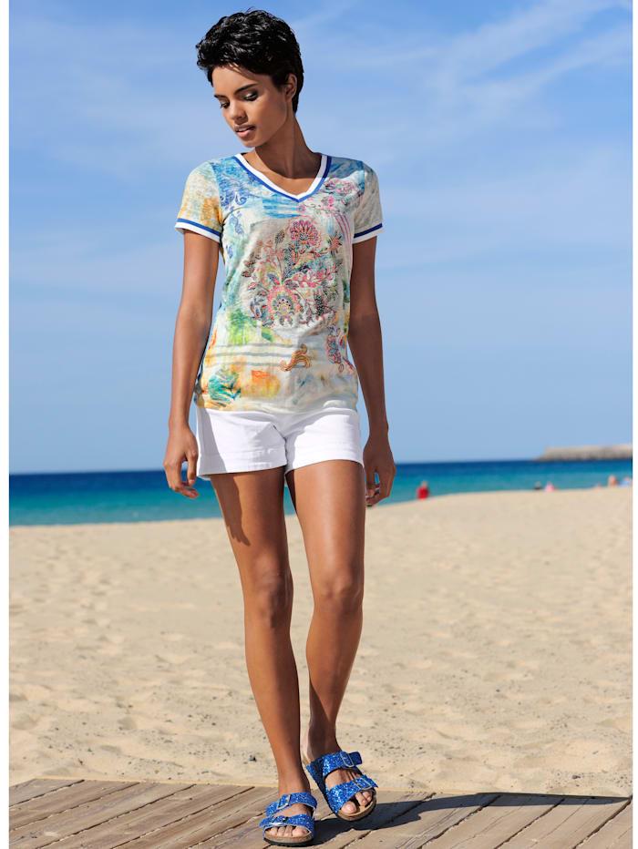 Strandkleid aus Ausbrennerware