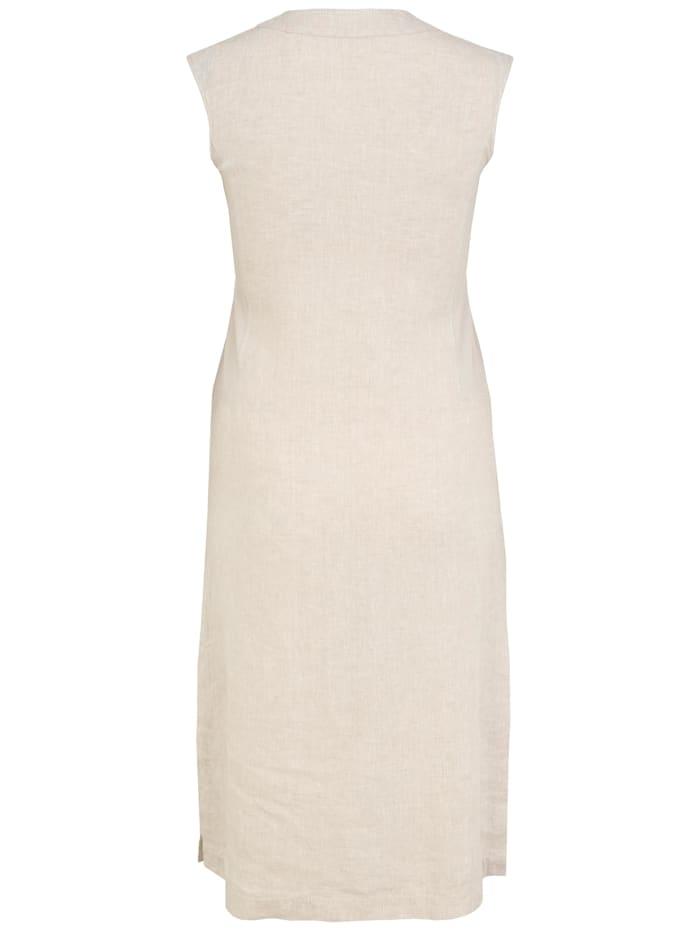 Kleid mit Kontrastverarbeitung