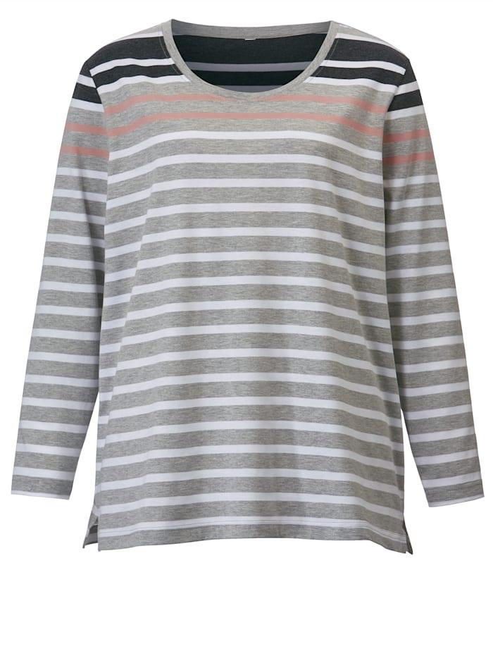 Shirt in Streifen-Optik