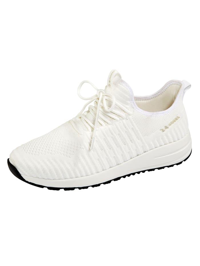 24 Hours Chaussures de sport à semelle intermédiaire 3 couches, Blanc