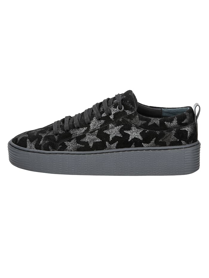 Lace-up Trainers with pretty star motifs