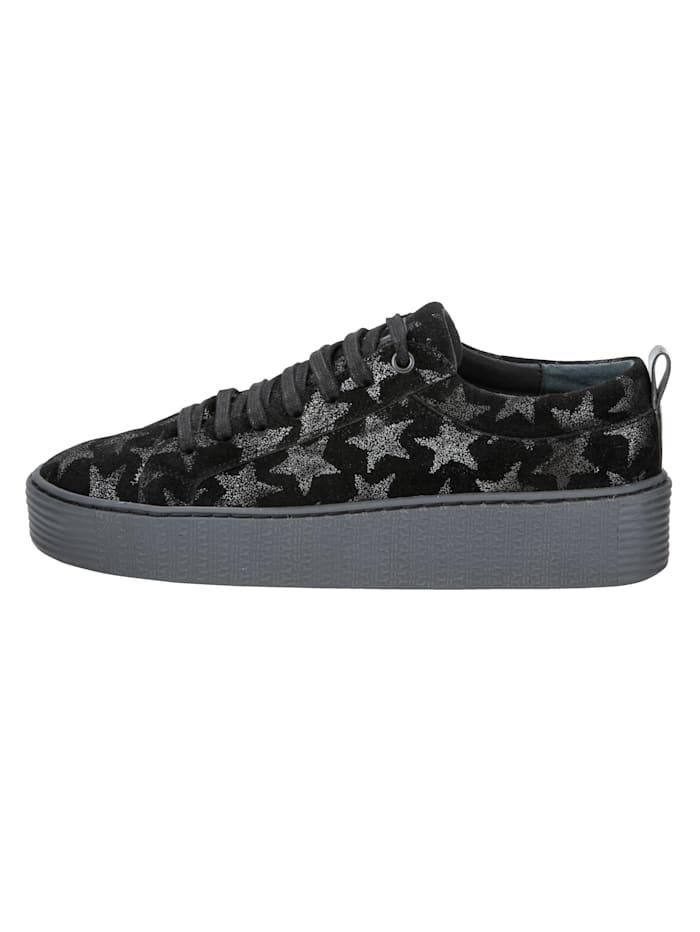 Sneakers med stjärnor
