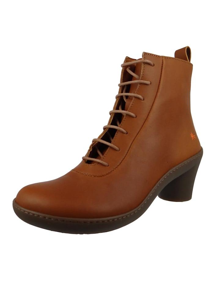 *art Leder Stiefelette Ankle Boot Alfma Cuero Braun 1444, Cuero