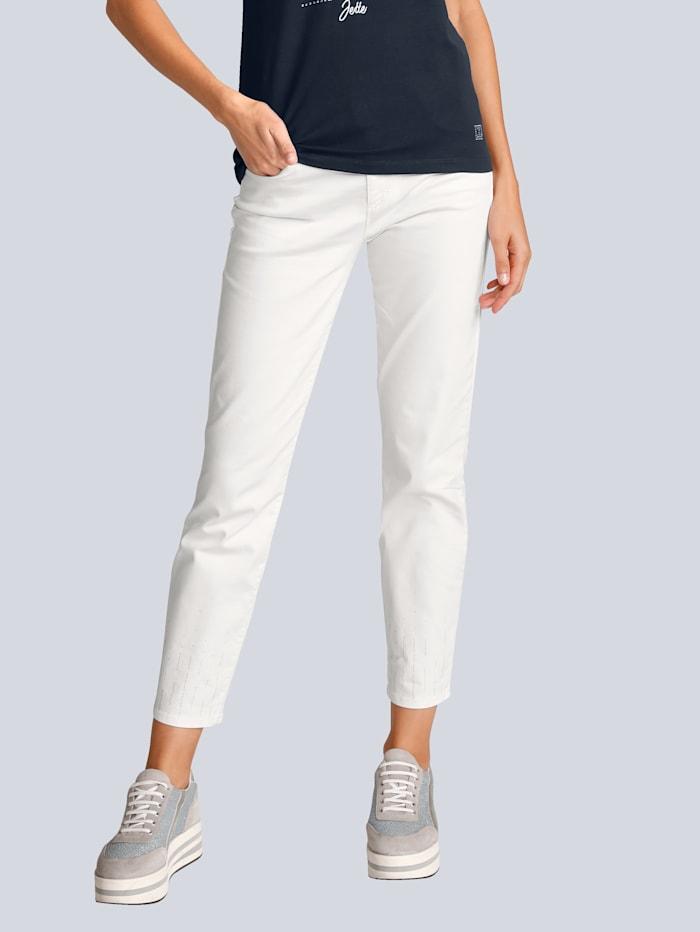 BRAX Jeans 'Ava S' für Alba Moda, Weiß