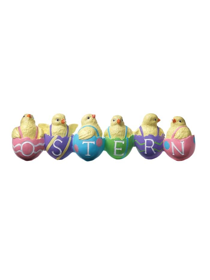 """Inscription """"Ostern"""", Multicolore"""