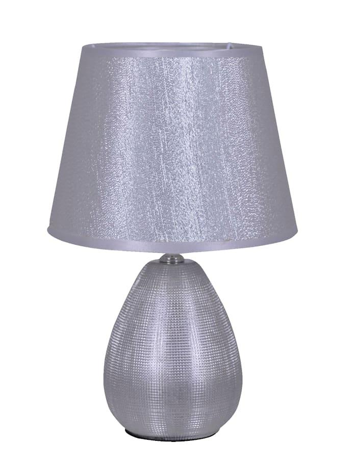Näve Tischleuchte 'Glow', Silber