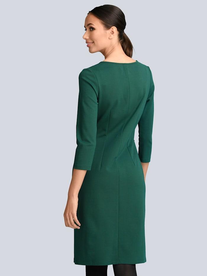 Kleid mit Spitzendetails vorne