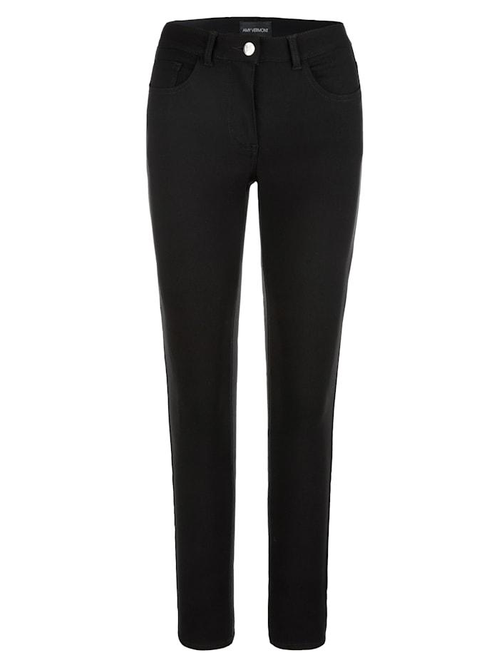 AMY VERMONT Jeans in elastischer Qualität, Schwarz