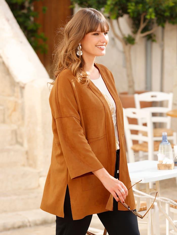 Jacke im Kimono-Stil