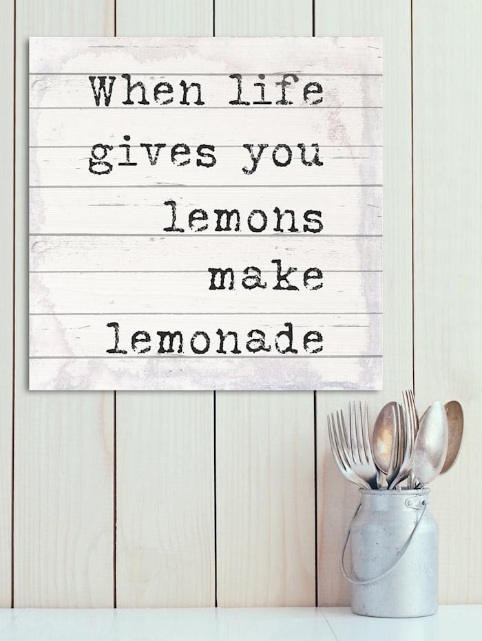 Holzbild, Lemons