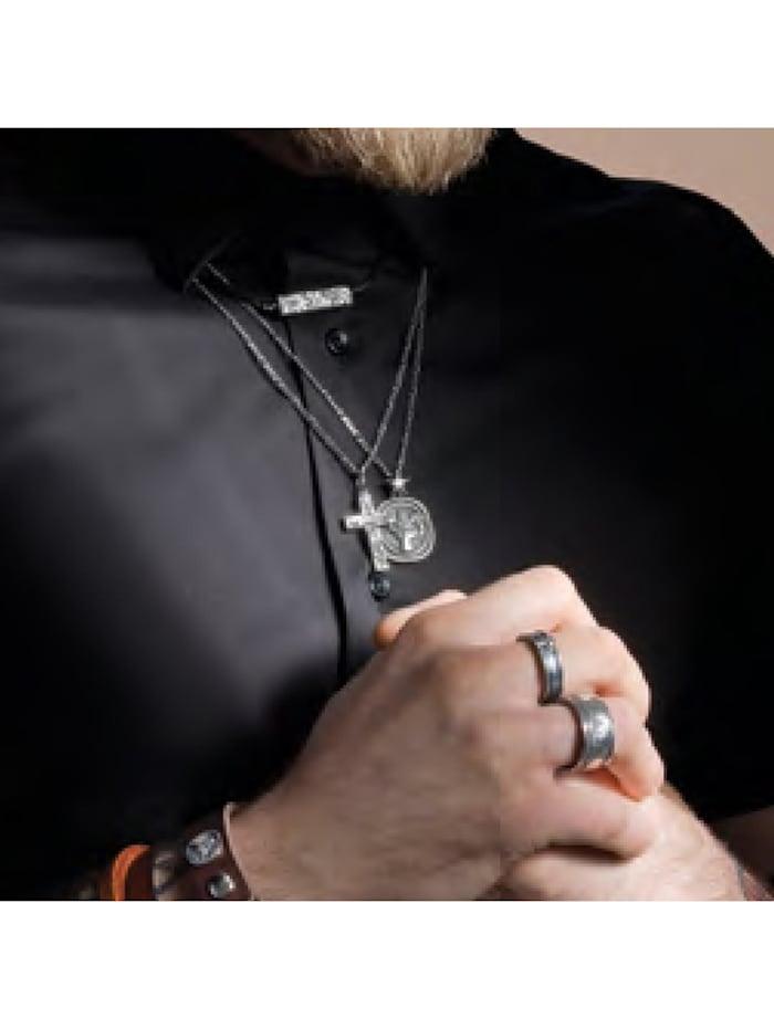 Ring 925/- Sterling Silber ohne Stein Mattiert 925/- Sterling Silber