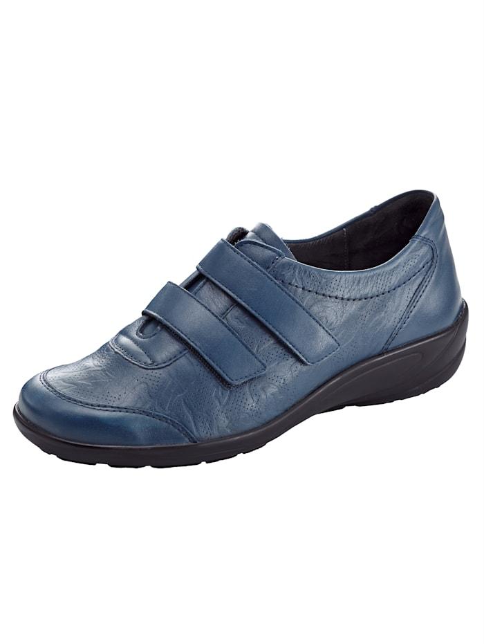 Semler Trotteurs en cuir haut de gamme, Bleu foncé