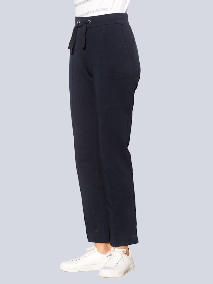 Alba Moda Hose in schöner Jerseyqualität, Marineblau