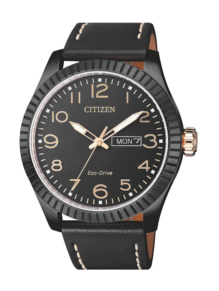 Citizen Herrenuhr, Eco-Drive BM8538-10EE, Schwarz