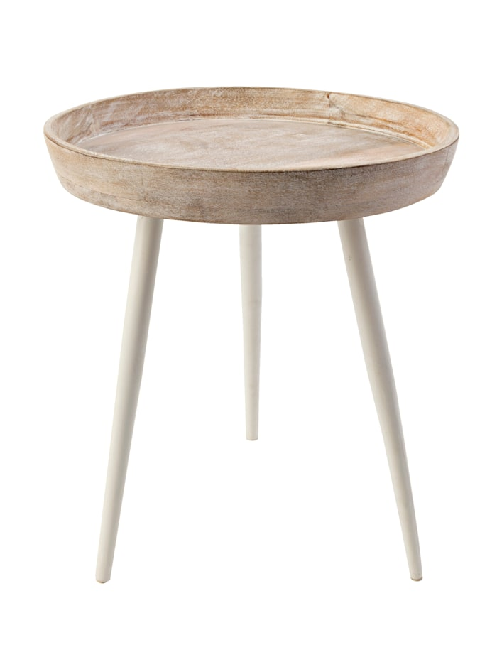 IMPRESSIONEN living Table d'appoint, Blanc