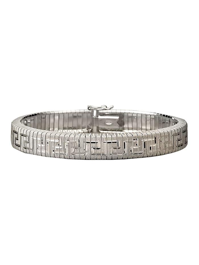 Amara Tendance Bracelet en argent, Coloris argent