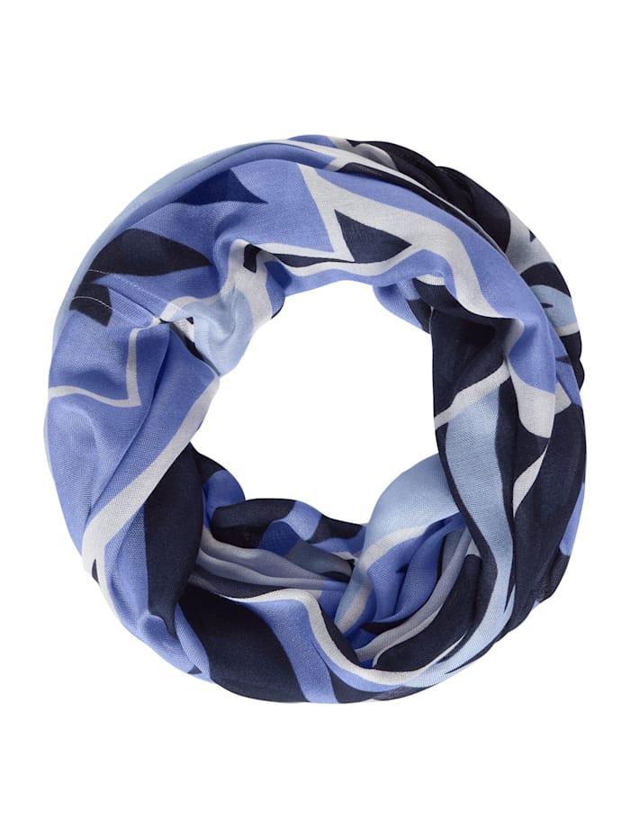Street One Loop mit Print, deep blue