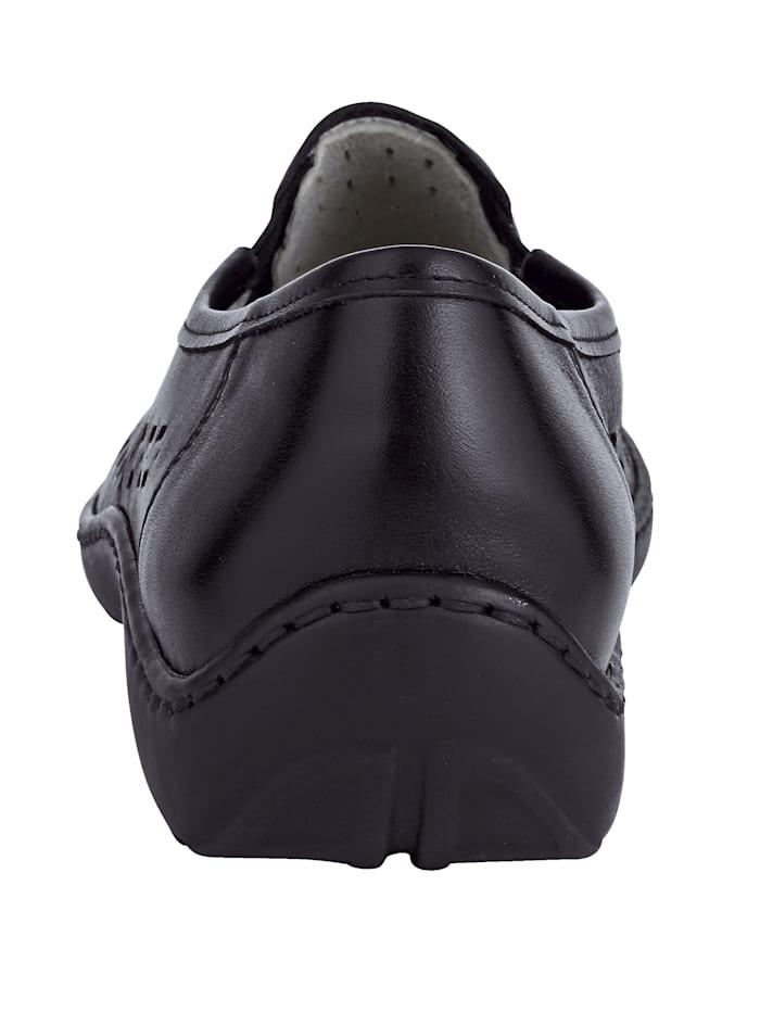 Slipper mit luftiger Perforation