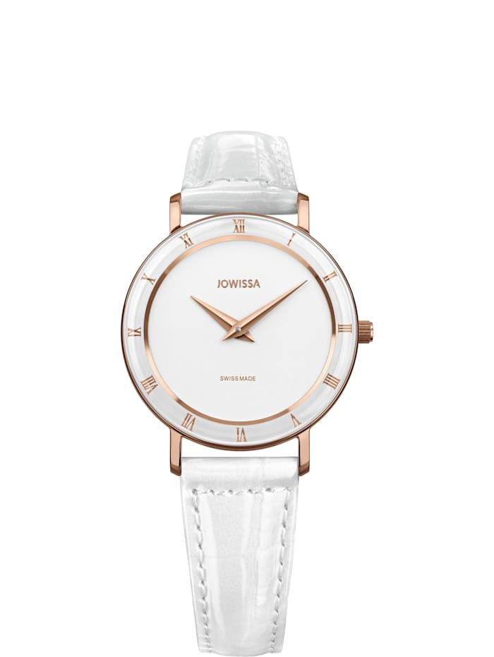 Jowissa Quarzuhr Roma Swiss Ladies Watch, rosa