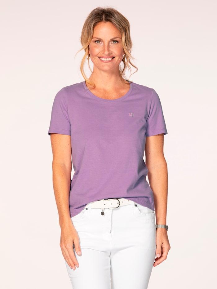 MONA T-shirt en 'Cotton made in Africa', Lavande