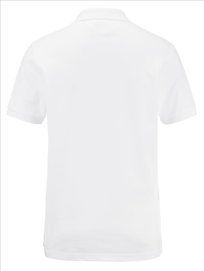 Poloshirt van een katoenmix