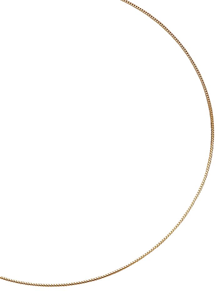 Diemer Gold Gevlochten ketting, Geel