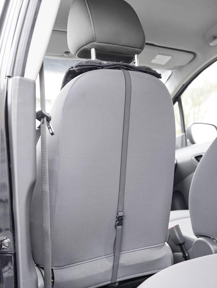 Scheerwollen autostoelbeschermer