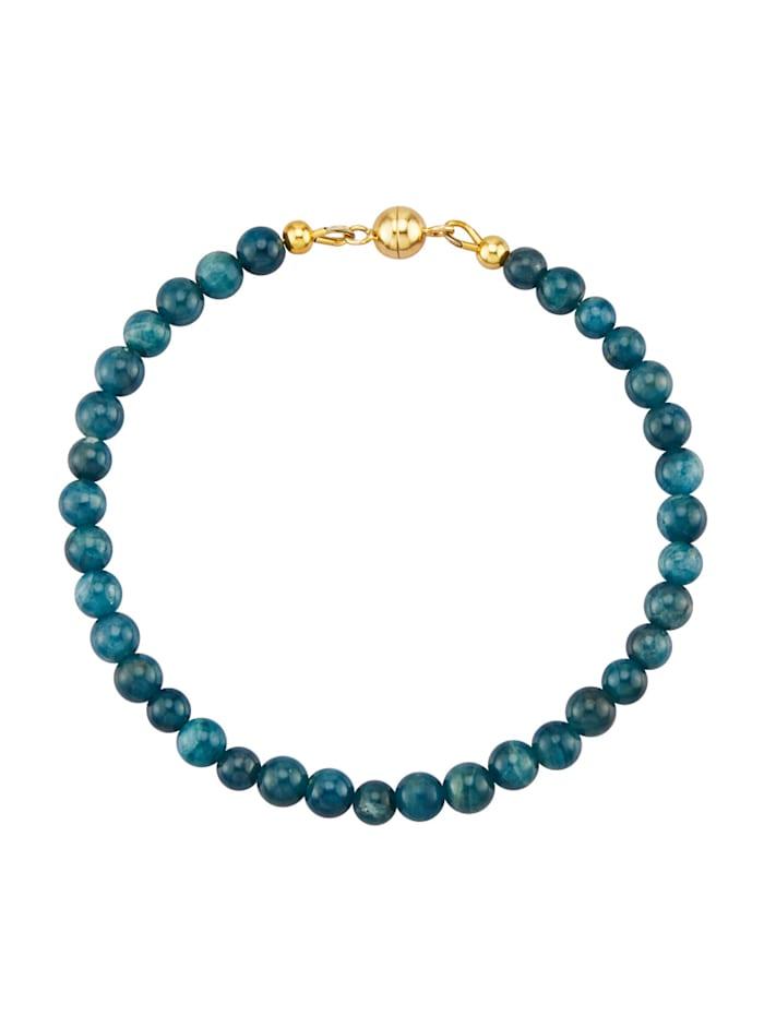 Armband van echt zilver, Blauw