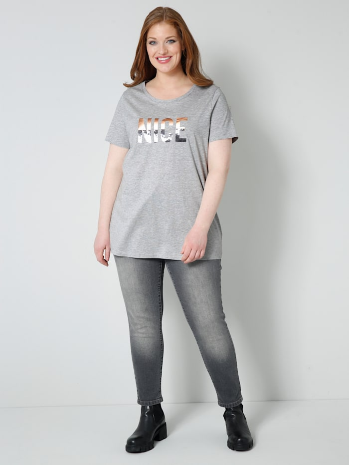 Tričko s flitrami