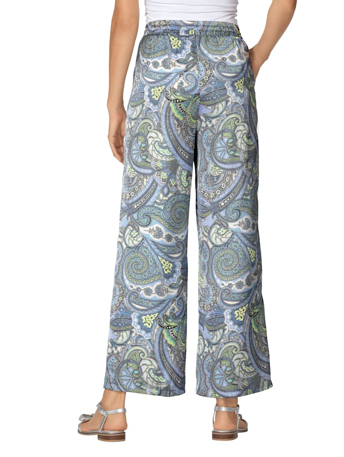 Hose mit Paisley-Muster
