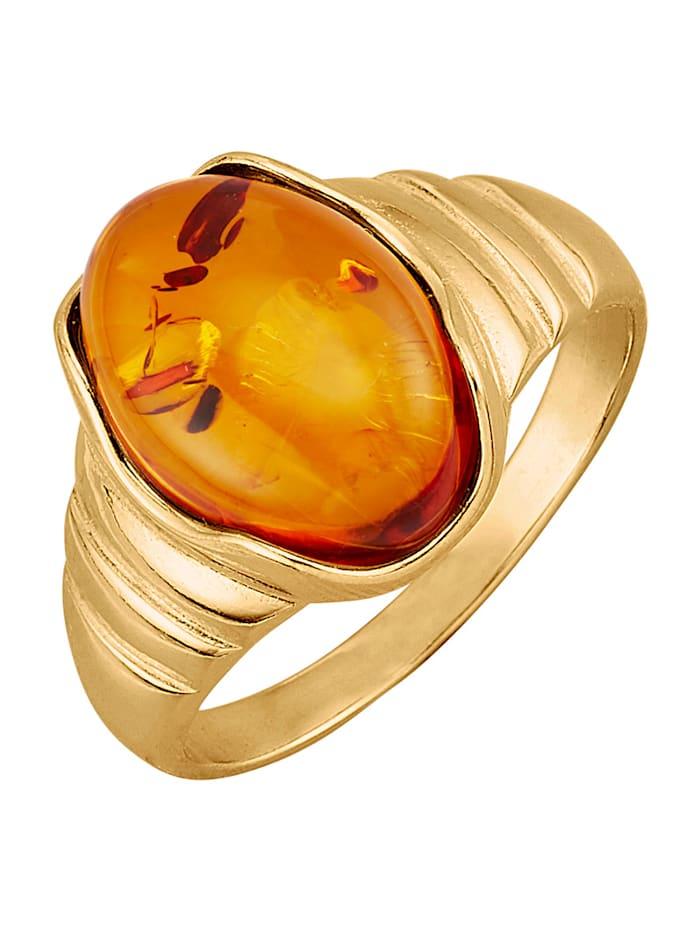 Damenring in Silber 925, Orange