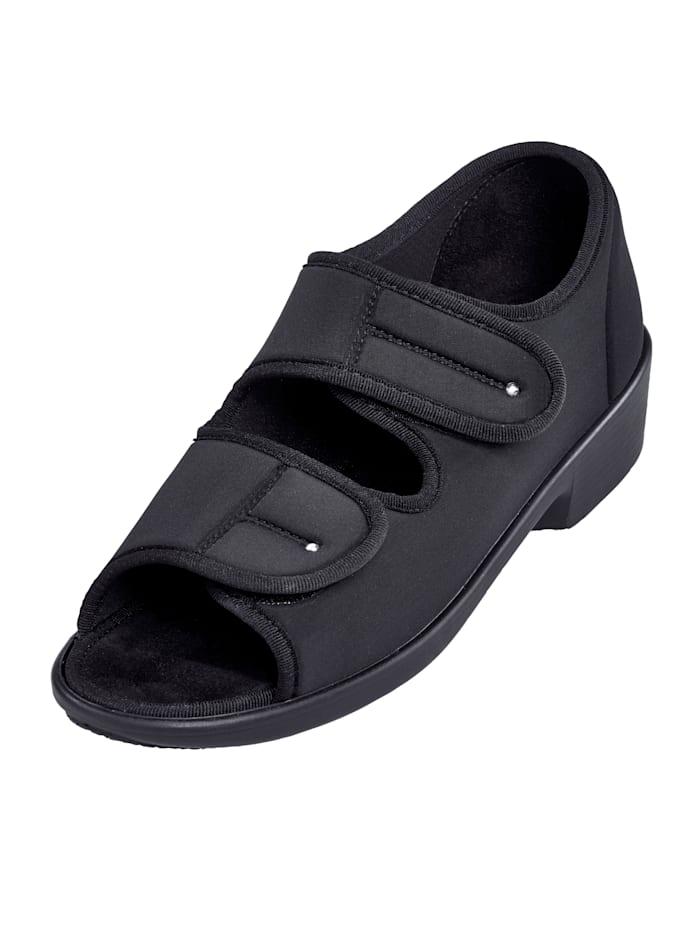 Promed Pedibelle Diana sandaal, Zwart