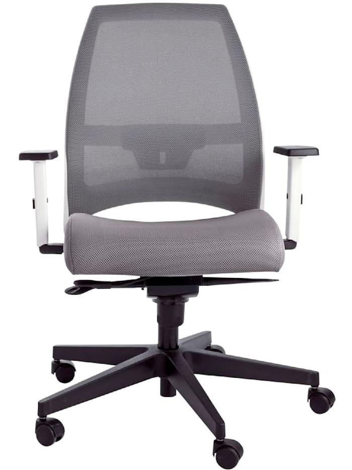 Living Bürostuhl, Grau/Weiß