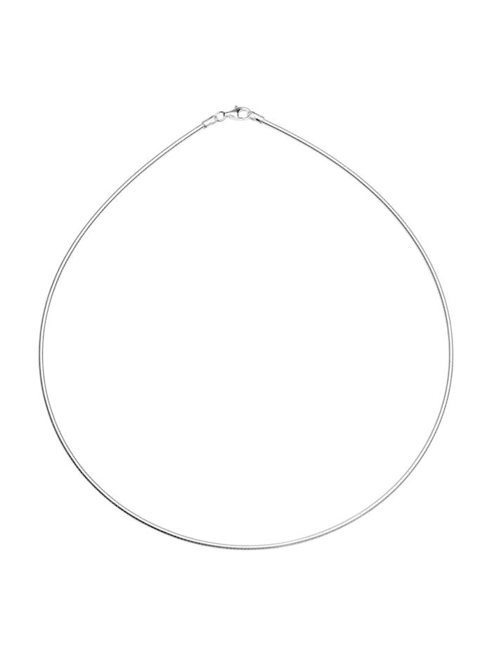 OSTSEE-SCHMUCK Halsreif - Omega 1,9 mm - Silber 925/000 -, silber