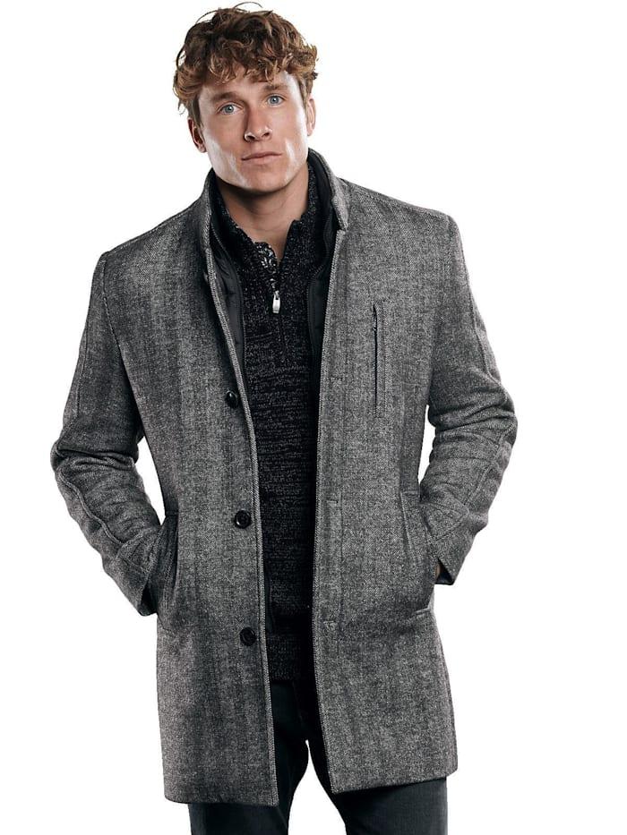 Engbers Stilvoller Mantel, Zementgrau