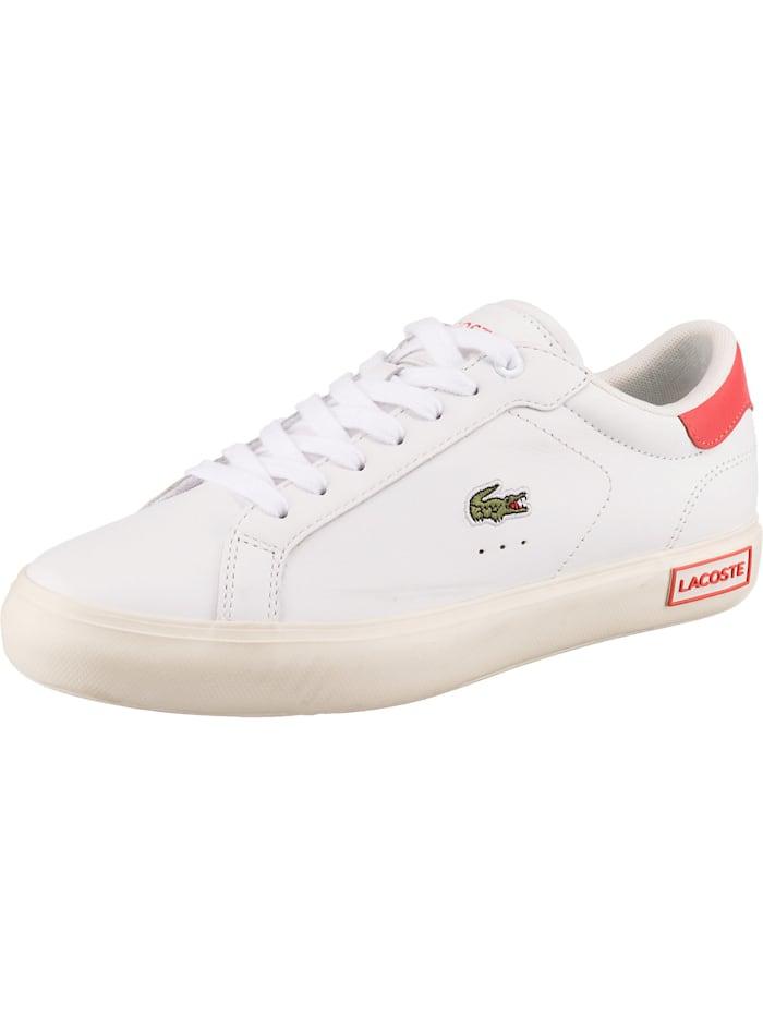 LACOSTE Powercourt 0721 1 Sfa Sneakers Low, weiß Modell 2