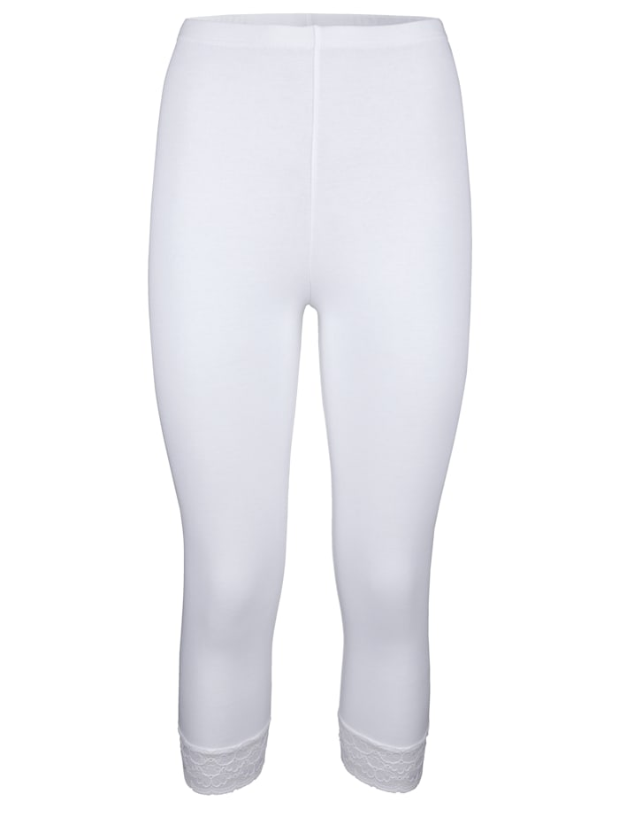 Leggings 3/4 en coton certifié haut de gamme