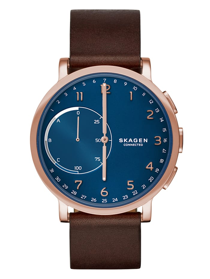 Skagen connected Herren Hybrid Smartwatch, Rosé