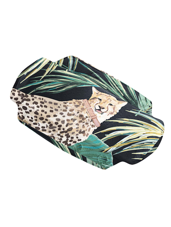 Kleine Wolke Nackenpolster 'Safari', mehrfarbig