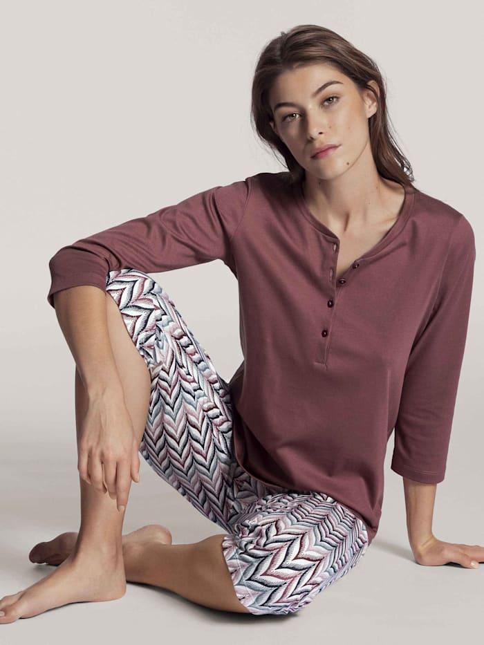 3/4-Pyjama Ökotex zertifiziert