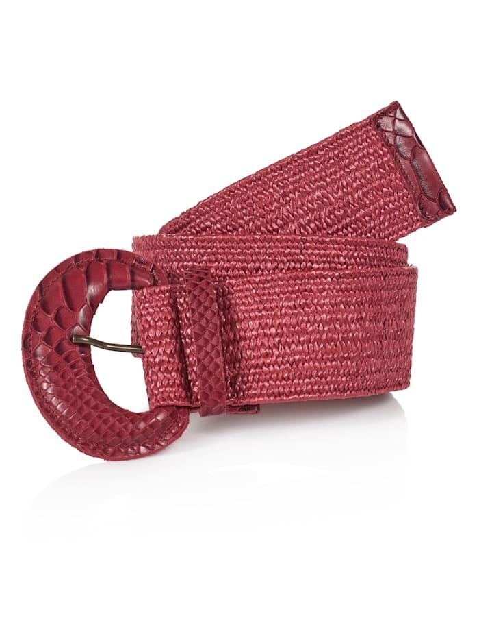 SIENNA Gürtel, Rot