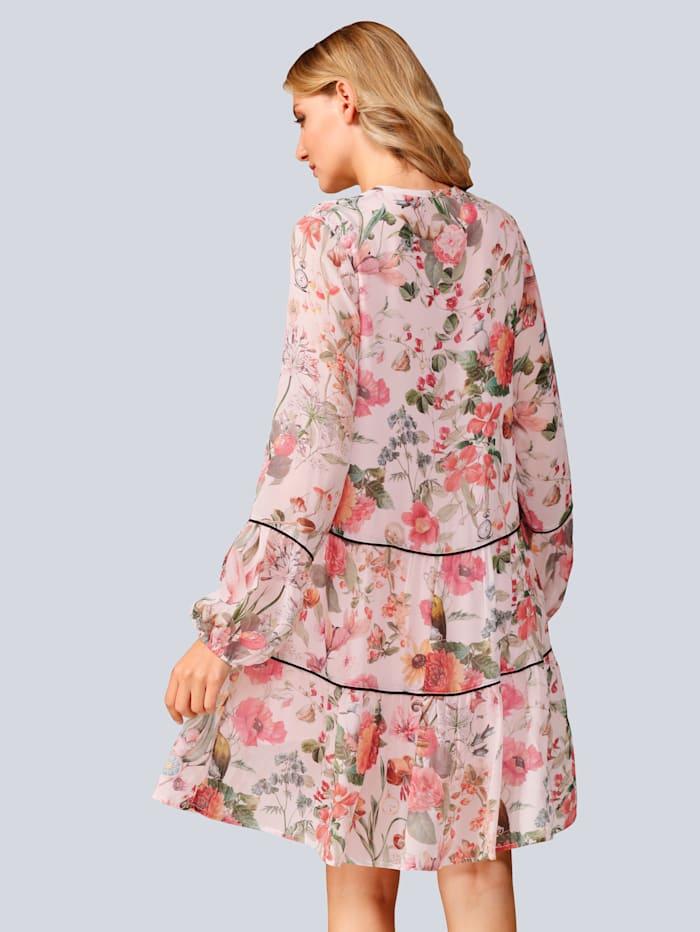 Kleid im floralem Druck