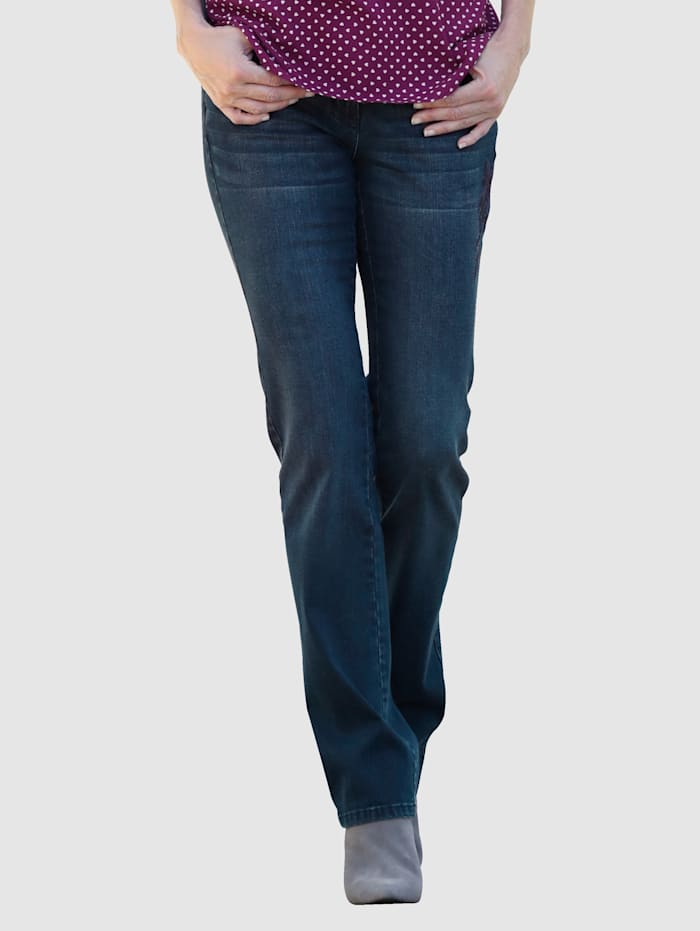 Dress In Jeans with a hint of stretch, Blue