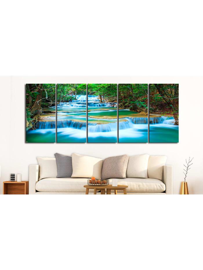 Wandbild Sapphire Waterfalls I
