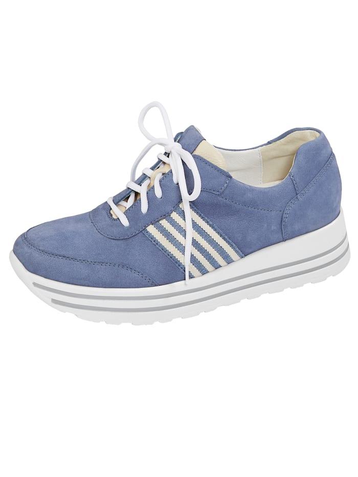 Waldläufer Šněrovací obuv, Modrá