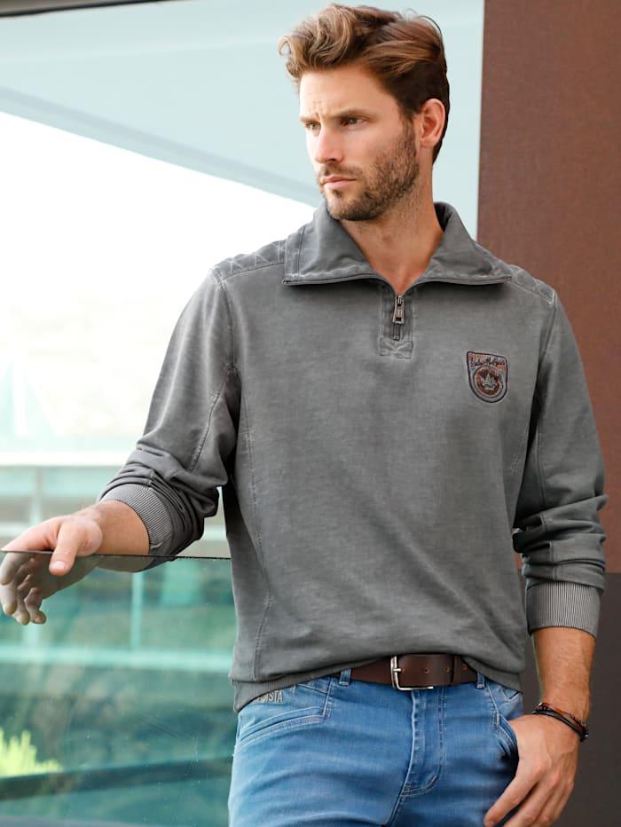 BABISTA Sweatshirt aus reiner Baumwolle, Grau